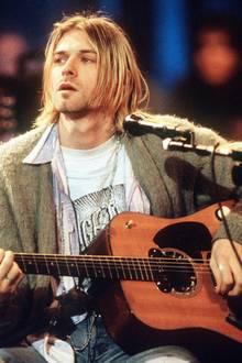 """5. April 1994: Der """"Nirvana""""-Frontman Kurt Cobain erschießt sich im Alter von 27 Jahren in seinem Haus in Seattle mit einer Schr"""