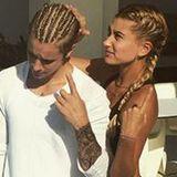 Das muss Liebe sein: Für seine vermeintliche neue Flamme Hailey Baldwin ließ sich Justin Bieber diese grausigen Cornrows flechten. Naja, wem's gefällt.