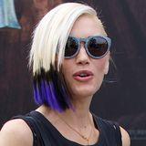 Neuer Lebensabschnitt, neue Frisur! Aber ob Gwen Stefani mit ihrer asymmetrischen und frisch gefärbten Dip-Dye-Frisur nicht doch etwas übertrieben hat, bleibt wohl Geschmackssache.