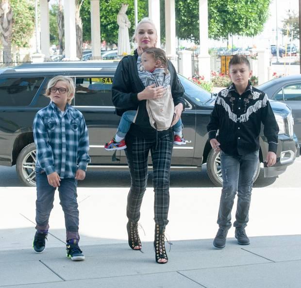 Gwen Stefani Kinder