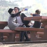 8. Dezember 2012: Das Familienpicknick im Park halten Gwen Stefani und Gavin Rossdale auf Kamera fest.