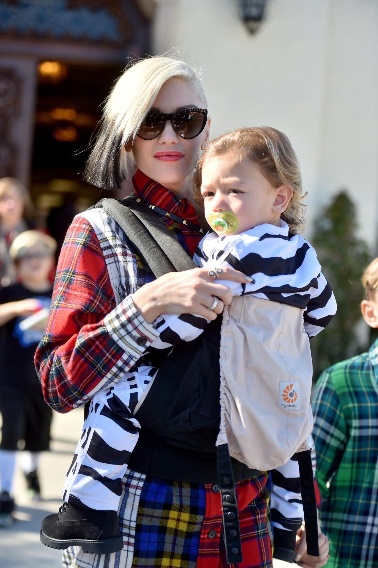 Gwen Stefani, Apollo Rossdale