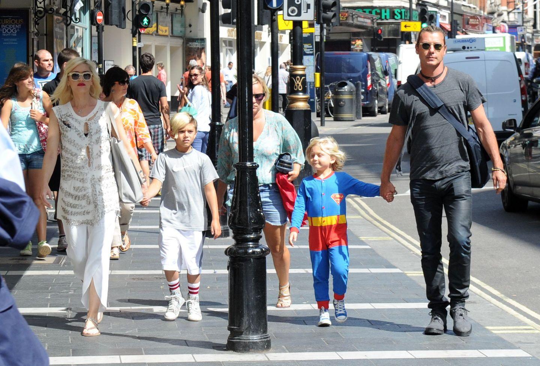 21. August 2013  An seinem fünften Geburtstag hat sich Zuma für das Superman Kostüm entschieden. Mit Mama Gwen, Bruder Kingston und Papa Gavin ist der Kleine in London unterwegs.