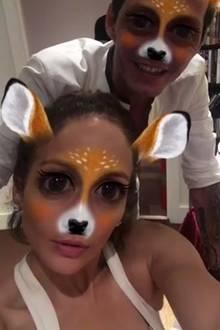Trotz Scheidung verstehen sich Jennifer Lopez und Marc Anthony blendend. Ihre Kids dürften die gemeinsamen Albernheiten besonders freuen.
