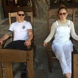 17. April 2016  Casper Smart und J.Lo machen sich ein gemütliches Wochenende in den Bergen von North Carolina.