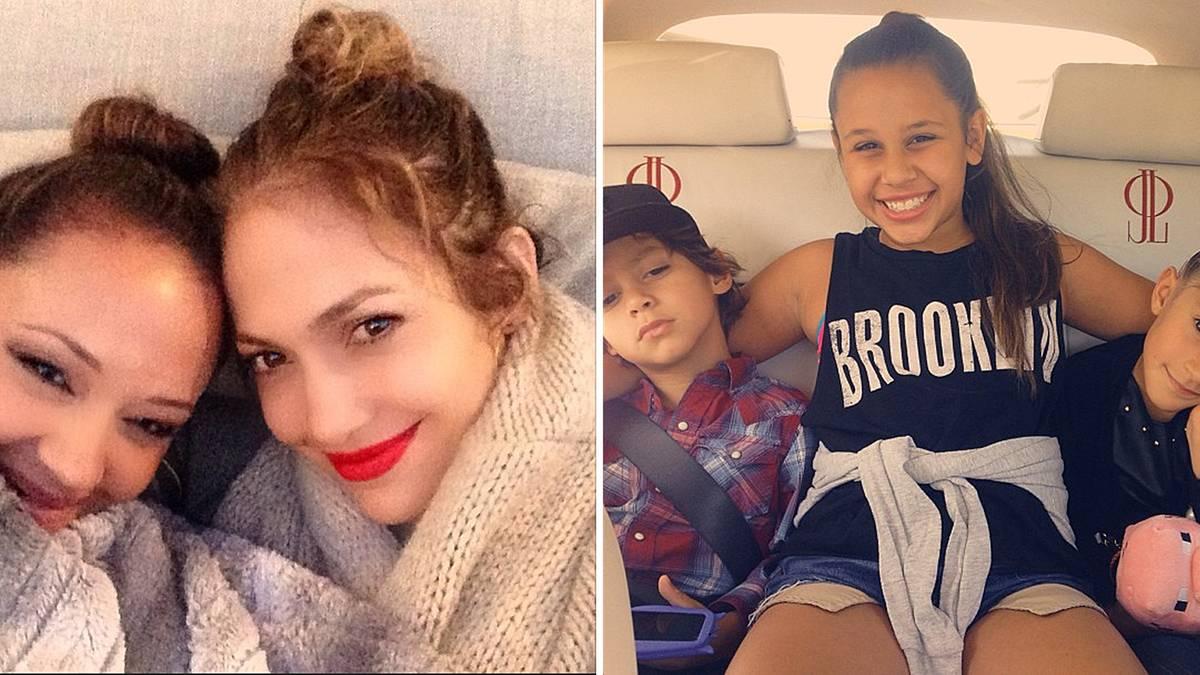 Jennifer Lopez Familie