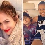 Jennifer Lopez und Leah Remini sind unzertrennlich. Kein Wunder, dass die Schauspieler als Patin für JLos Zwillinge Max und Emme fungiert. Die beiden verstehen sich übrigens auch hervorragend mit Reminis Tochter Sofia.