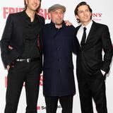 Drei Produzenten unter sich: Max Wiedemann, Tom Zickler und Quirin Berg