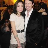 Schauspielerin Nadine Warmuth nimmt ihren Freund Martin Bachmann mit zu der Premiere.