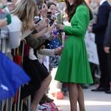 Bei ihrer Reise durch Australien verzichtet Catherine, Herzogin von Cambridge, nicht auf ihre Pumps.