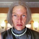 Welche alte Dame mag das sein?