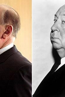 Welcher berühmte Schauspieler verwandelt sich in den Kult-Filmregisseur Alfred Hitchcock?