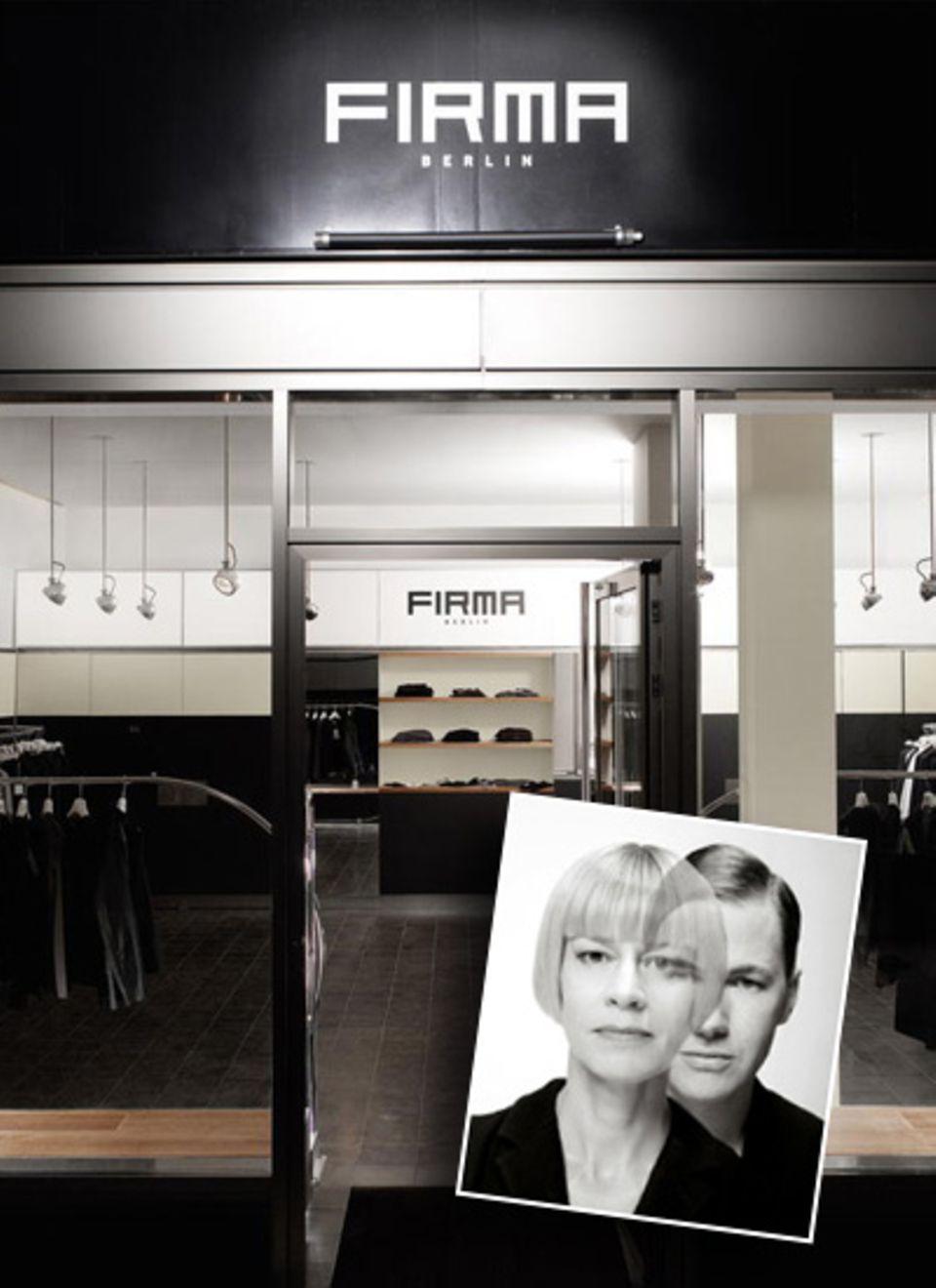 """""""Firma"""" - Architekten der Mode."""