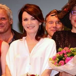 "Iris Berben bei den ""First Steps Awards"""