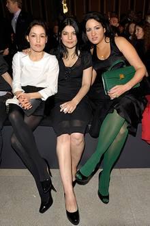 Nicolette Krebitz, Jasmin Tabatabai und Minu Barati-Fischer haben die beste Sicht auf die neue Kollektion von Boss Black.