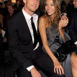 Jenson Button hat seine schöne Freundin Jessica Michibata mitgebracht.