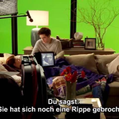 """Bonusmaterial - Lacher und Patzer beim """"Twilight""""-Dreh über die Jahre."""