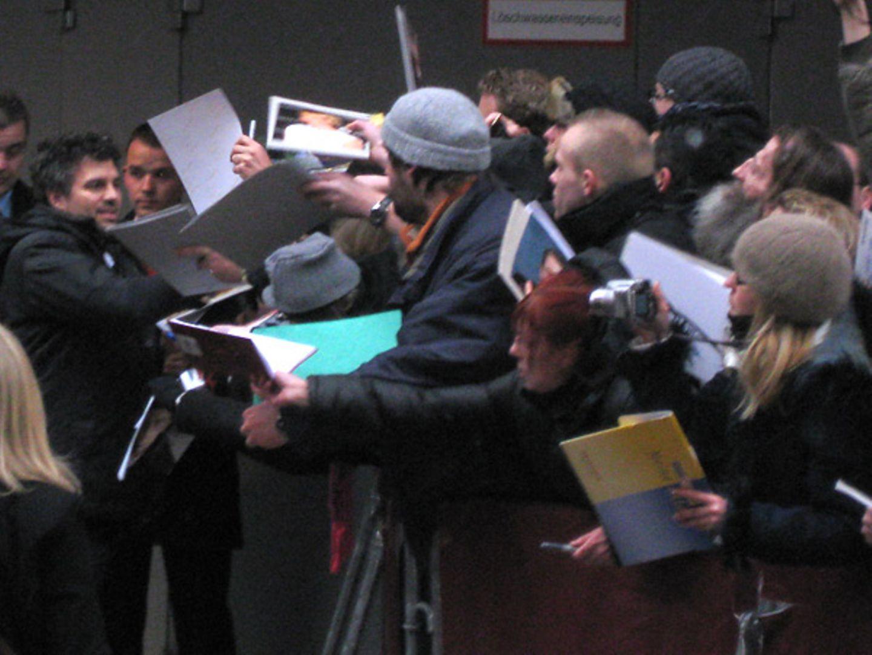 Mark Ruffalo genießt die Aufmerksamt der Fans.