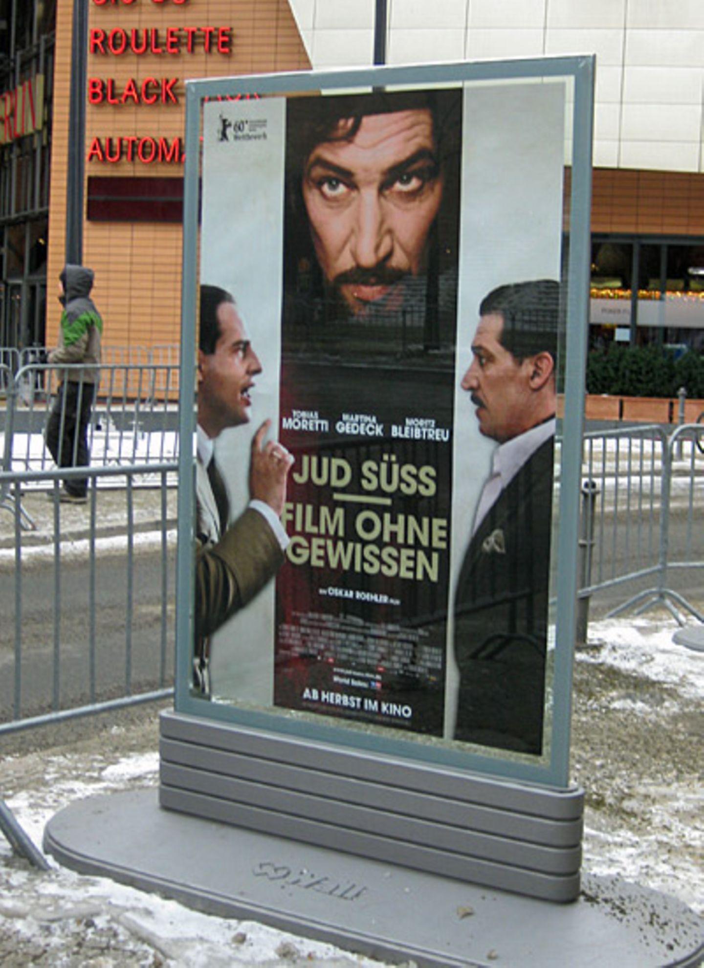 """Auch """"Jud Süss"""", der neue Film von Moritz Bleibtreu, Martina Gedeck und Tobias Moretti, wird im Rahmen der Berlinale vorgestellt"""