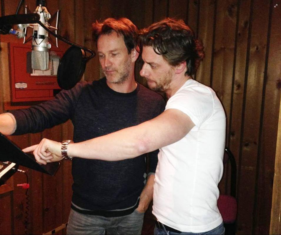 Stephen Moyer übt zuammen mit Broadway-Schauspieler Christian Borle