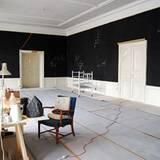 Für einige dänische Künstler wurde das Schloß zum Atelier.
