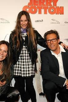 Im Hause Tramitz hat ganz klar die Tochter Luca Carlotta das Sagen: Aber solange die Eltern lachen, scheint es ja ganz in Ordnun