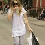 Sarah Jessica Parker im Jahr 2007, auf dem Weg nach Hause nach dem Shoppen im West Village.