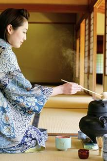 Asiatische Teezeremonie