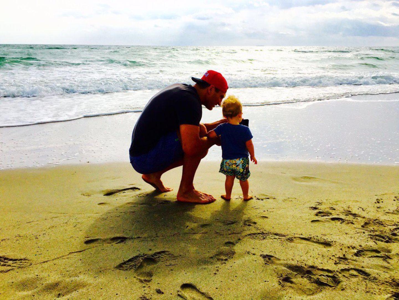 """5. März 2016  """"Die Lieben meines Lebens"""", schreibt Hayden Panettiere zu diesem Foto von Wladimir Klitschko mit der gemeinsamen Tochter Kayla."""