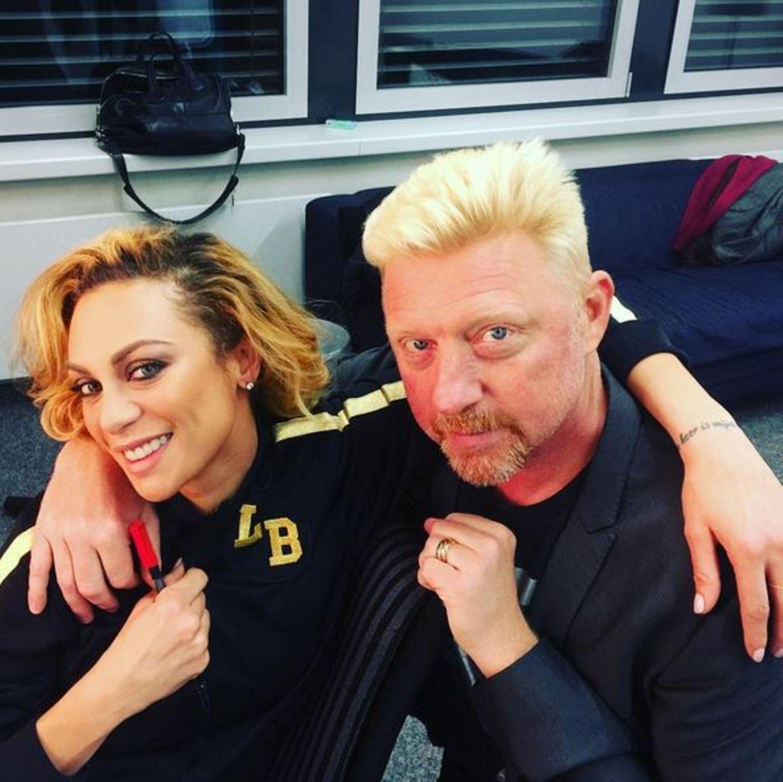"""10. März 2016  Lilly und boris Becker sind backstage schon ganz aufgeregt. Sie sind heute zu Gast in """"I can do that"""", der neuen ZDF-Show mit Steven Gätjen. Hier stellt sich Lilly einer ganz besonderen Herausforderung: Mit nur einer Woche Training muss sie eine beeindruckende Live-Performance auf die Bühne bringen."""