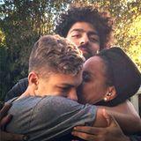 5. Februar 2016  Drei wie Pech und Schwefel: Barbara Becker und ihre beiden Söhne Elias und Noah haben eine ganz besondere Verbindung, die eindeutig von Liebe gekennzeichnet ist, und die niemand trennen kann.