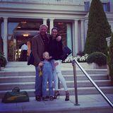 15. September 2014  Günter Netzer wird 70 Jahre alt und lädt das Ehepaar Becker samt Filius Amadeus ein.