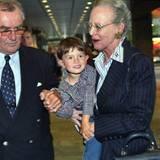 22. Juli 2002: Enkelkind Nummer 2, Prinz Felix Henrik Valdemar Christian von Dänemark ist gerade zur Welt gekommen. Prinz Henrik