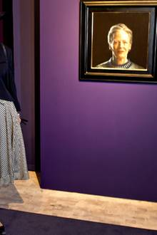 """31. August 2012: Königin Margrethe eröffnet im dänischen Kolding die Ausstellung """"Eine Königin und ihre Familie"""" im Trapholt Mus"""