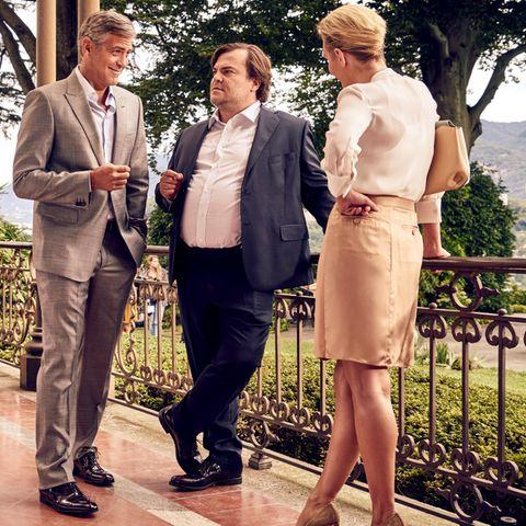 George Clooney, Jack Black, Nicole Whelan
