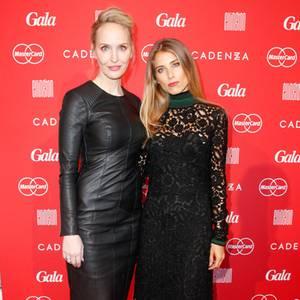 GALA-Chefredakteurin Anne Meyer-Minnemann + Cathy Hummels