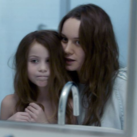 "Brie Larson als ""Ma"" in Room (mit Filmsohn Jacob Tremblay)"