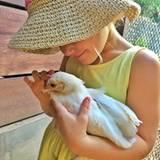 Januar 2016  Gisele Bündchen postet dieses bezaubernde Bild ihrer Tochter Vivian.