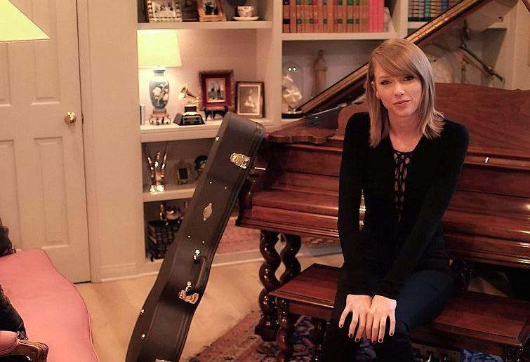 Taylor Swift: Hier schreibt Taylor Swift Songs.