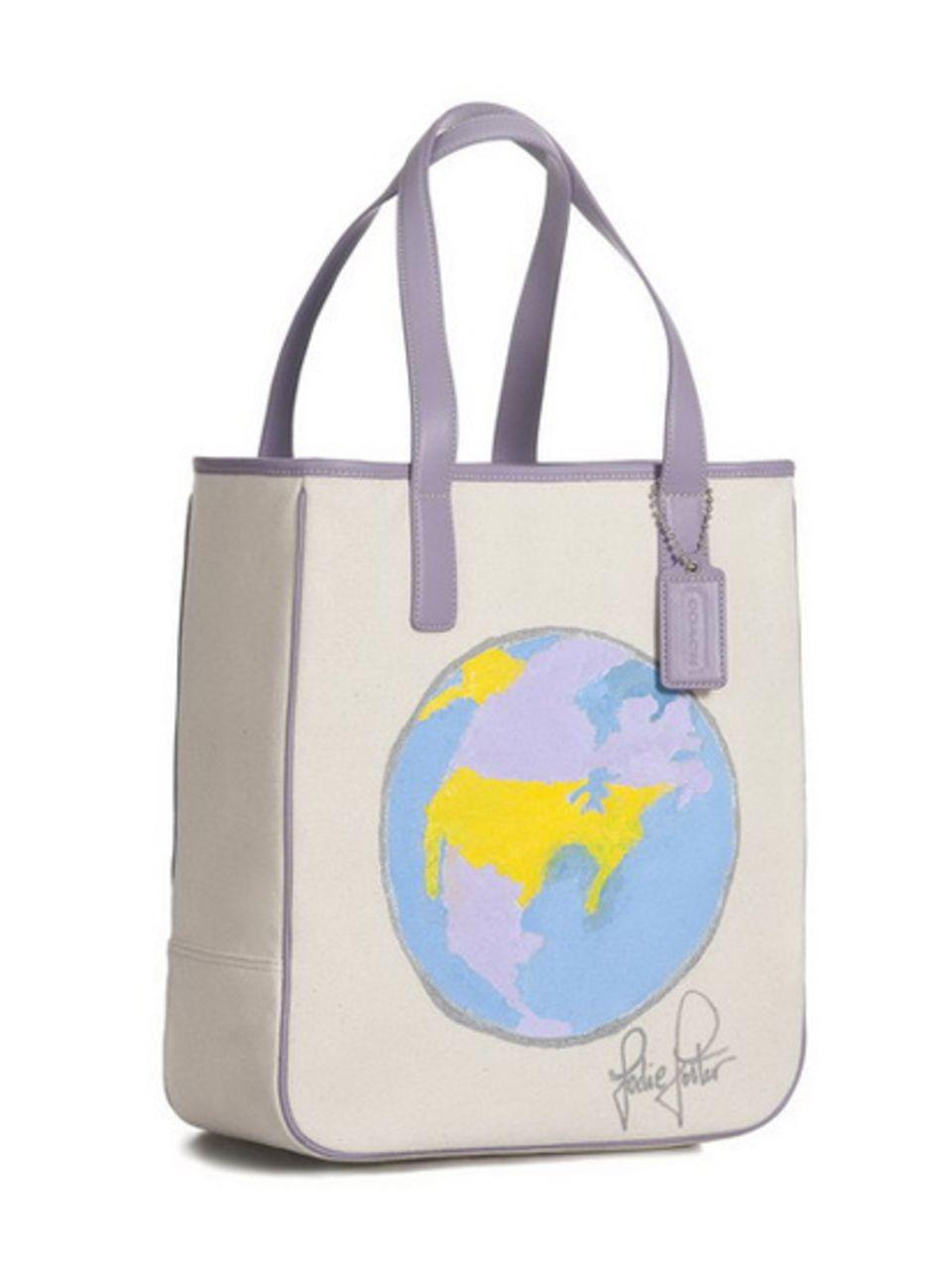 Coach bag: Jodie Foster