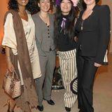 Veuve Clicquot: Dennenesch Zoude, Dunja Hayali, Moon Suk und Susanne Daubner