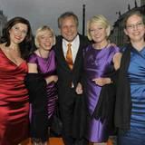 Veuve Clicquot: Nelly Kostadinova, Elisabeth Hintermann, Frank Floc'hlay, Maximiliana Pangerl und Alexandra Knauer