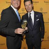 Veuve Clicquot:  Hoteldirektoren Thies Sponholz und Jost Deitmar