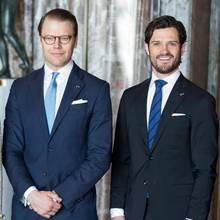 Prinz Daniel und Prinz Carl Philip von Schweden