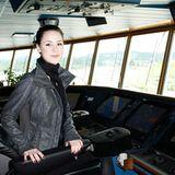 Lena wird als Kapitän den Sieg in den sicheren Hafen bringen.