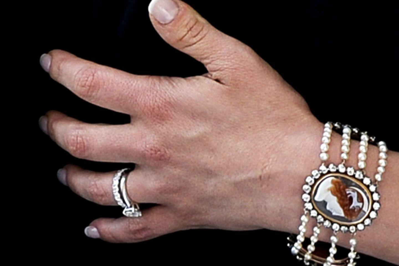 Das ist er: Der Ehering von Prinzessin Victoria.