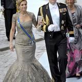 So ein schönes Paar: Prinzessin Máxima und Prinz Willem-Alexander.