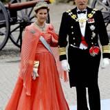 Das norwegische Königspaar darf natürlich auch nicht fehlen: Königin Sonja und König Harald.