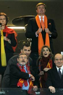 WM 2010: Die spanische Königsfamilie hat mehr Grund zur Freude.