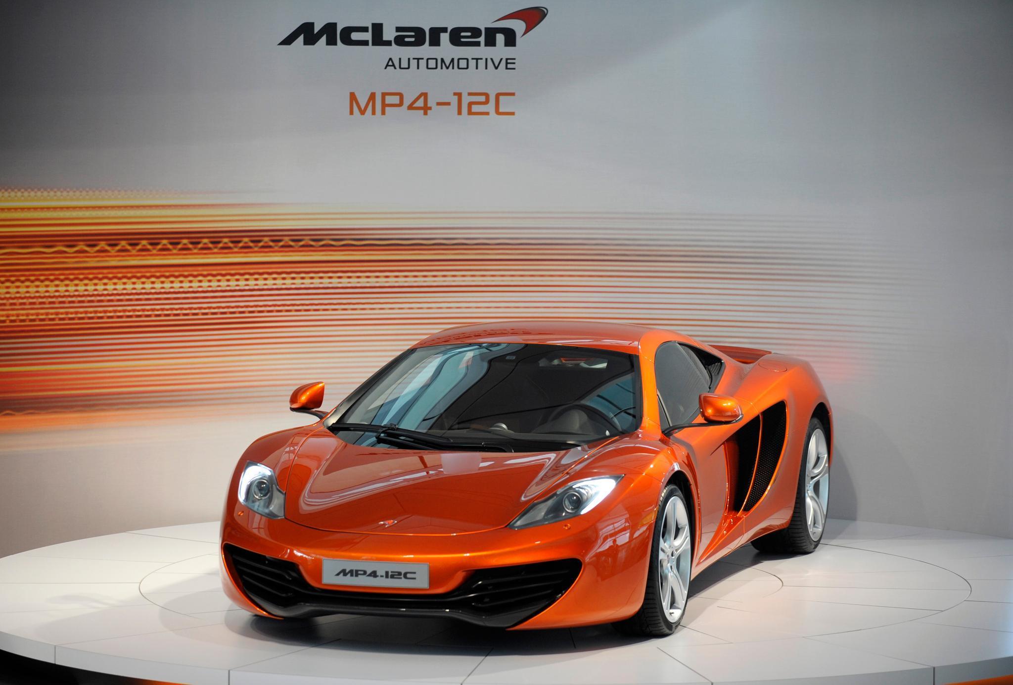 Mehr als 600 PS und über 200.000 Euro teuer: Ein McLaren MP4-12C.